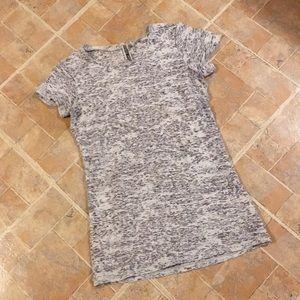 BKE sheer short sleeve t-shirt size women's medium